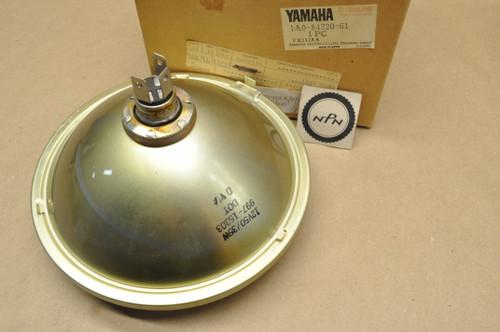 NOS Yamaha 1976-79 RD400 1980-82 XS400 Koito Sealed Beam Head Light Lens 12V 50/35W 1A0-84320-61