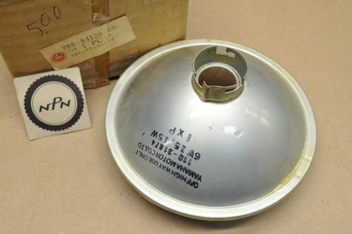NOS Yamaha 1971 JT1 Koito Head Light Lens 6V 15/15W 288-84120-60