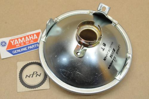 NOS Yamaha 1966-67 YL1 Koito Head Light Lens 132-84300-60