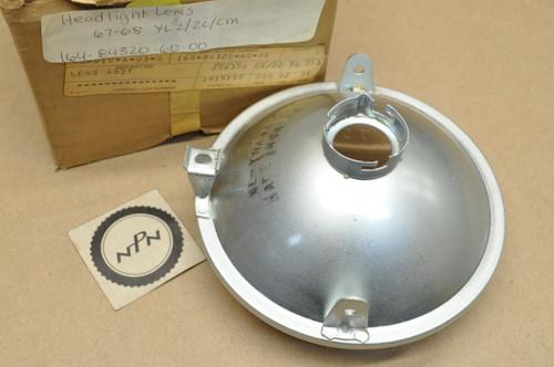 NOS Yamaha 1967 YL2 YL2C 1968 YLCM  Imasen Head Light Lens 164-84320-60