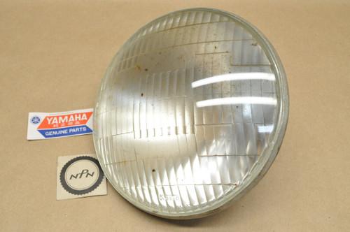 NOS Yamaha 1969-70 DS6 1969 R3 Koito Head Light Lens 12V 35/25W 235-84320-60
