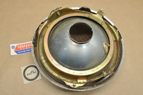NOS Yamaha SRX600 XJ1100 XJ750 XS1100 XS750 XS850 Koito Head Light Lens & Bezel Ring Assy 12V 60/55W 2F3-84303-A0