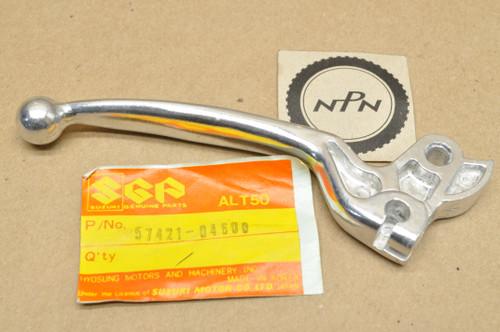 NOS Suzuki 1984-87 LT50 Left Handle Bar Brake Lever 57421-04600