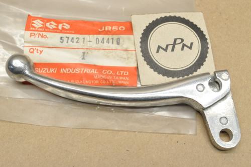 NOS Suzuki 1985-87 JR50 Right Handle Bar Brake Lever 57421-04410