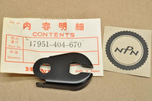 NOS Honda 1977-78 CB550 K CB750 A CB750F CB750K Choke Cable Holder Stay Mount Bracket 17951-404-670