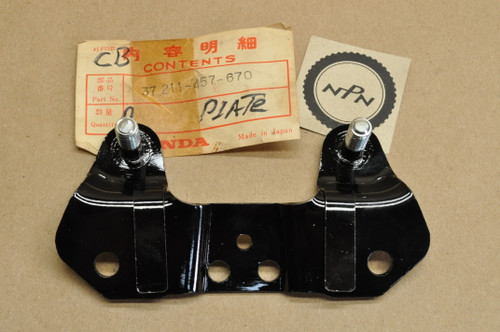 NOS Honda CB450 K6-K7 Speedometer Tachometer Meter Mount Bracket 37211-457-670