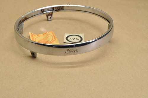 NOS Honda CB450 CB500 CB550 CB750 CB750F GL1000 Gold Wing Headlight Bezel Trim Ring Rim 33101-300-673