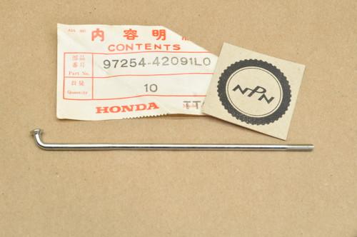 "NOS Honda 1983-84 CR80 R Rear Wheel Spoke ""B"" 97254-42091-L0"