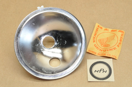 NOS Honda ATC70 ATC90 MR175 MR250 TL125 TL250 Z50 Head Light Reflector 33104-028-003