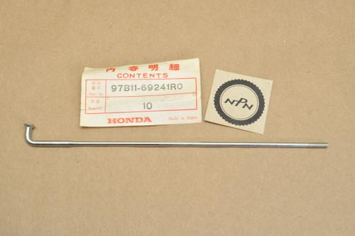 "NOS Honda 1980-82 CB650 1979-82 CB750 K Front Wheel Spoke ""BS"" 97B11-69241-R0"