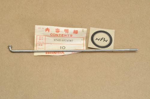 """NOS Honda 1980-82 CB650 1979-82 CB750 K Front Wheel Spoke """"BS"""" 97451-69242-R0"""