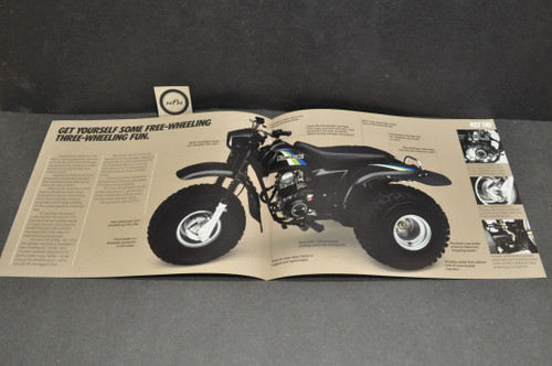 NOS Kawasaki 1985 KLT110 A2 Brochure