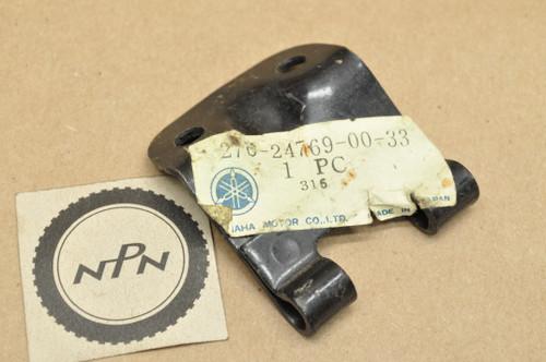 NOS Yamaha 1970-71 HT1 1972 LT2 Seat Hinge Bracket 276-24769-00-33