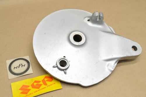 NOS Suzuki TC100 TC125 TS100 TS185 Rear Wheel Hub Brake Panel 64210-28001