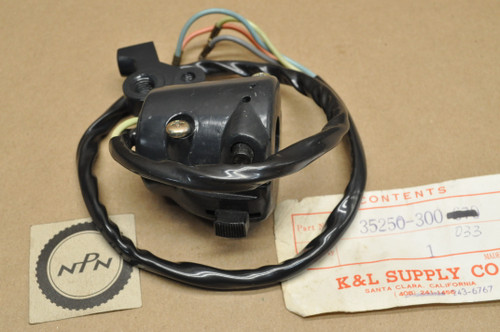 NOS Honda CB175 CB200 CB350 CB450 CB750 CL175 CL200 CL350 CL450 Left Turn Signal & Horn Switch 35250-300-033