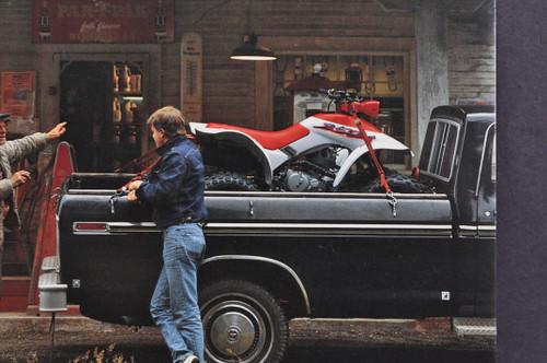 Vintage 1987 Honda TRX250 X Four Trax Small Talk Postcard