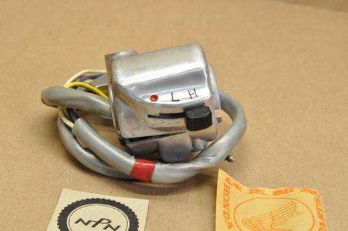NOS Honda CL90 Left Handlebar Light Dimmer Control Switch 35300-056-670
