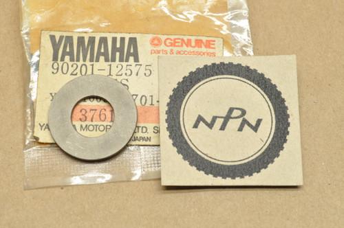 NOS Yamaha AS2 BW80 CS3 CS5 DS7 DT1 DT100 DT175 DT50 DT80 FJ1100 FJ1200 FJ600 PW80 XS850 YFM250 YTM225 Washer 90201-12575