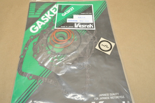 NOS Yamaha 1998 YZ125 Complete Top & Bottom Gasket & O-Ring Set