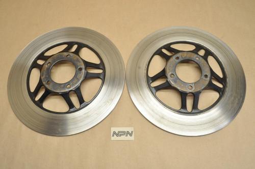 Vintage Used OEM Honda CB400 CB750 CB900 CBX CM400 GL1000 GL1100 Front Brake Disk Qty 2 45251-422-010
