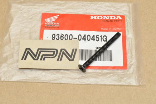 NOS Honda CB1100 CB750 CB900 CBX CM450 CX500 GL1100 Screw 93600-04045-1G