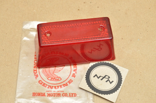 NOS Honda CA71 CA72 CA95 CB92 CE71 Early Rear Tail Light Lens 33702-255-000