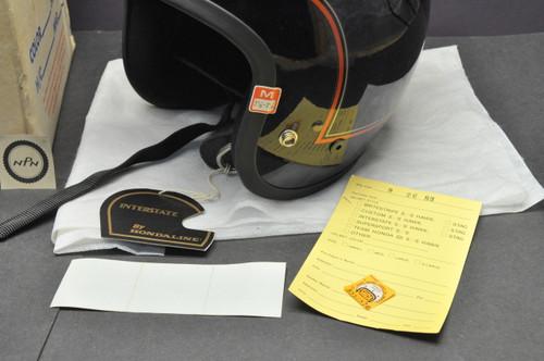 Vintage NOS 1983 Honda Hondaline GL1100 Goldwing Interstate Shoei S/S Stag Helmet Large