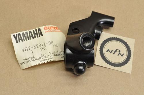 NOS Yamaha 1981-83 XV750 Virago 1980-83 XJ650 Left Handle Bar Clutch Lever Perch Mount Bracket 4H7-82911-00