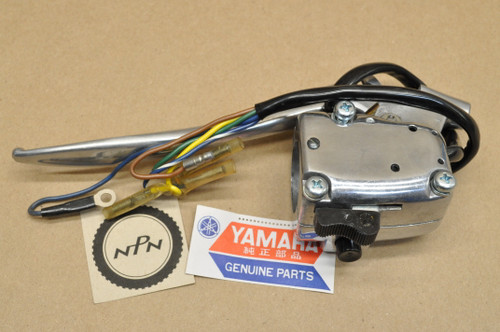 NOS Yamaha 1962-64 YD3 1963 YDT1 Right Handlebar Control Switch & Lever Assy 148-82620-00