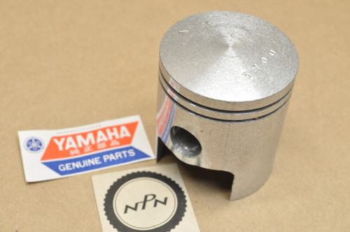 NOS Yamaha 1969-71 AT1 1.00 Oversize Piston 57.00 mm 248-11638-01