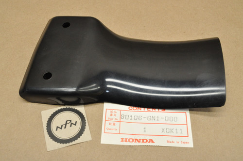 NOS Honda 1985-99 XR100 R XR80 R Black Rear Inner Fender Splash Mud Guard 80106-GN1-000