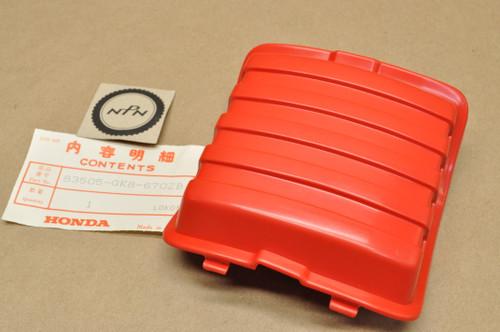 NOS Honda 1984-85 NQ50 Spree Sparkling Red Petcock Fuel Valve Cover 83505-GK8-670 ZB