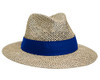 Embroidered Safari Straw Casual Hat