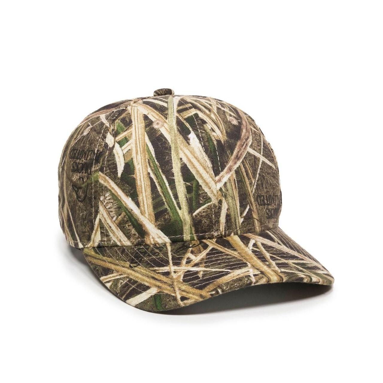 Custom Basic Twill Camo Hat