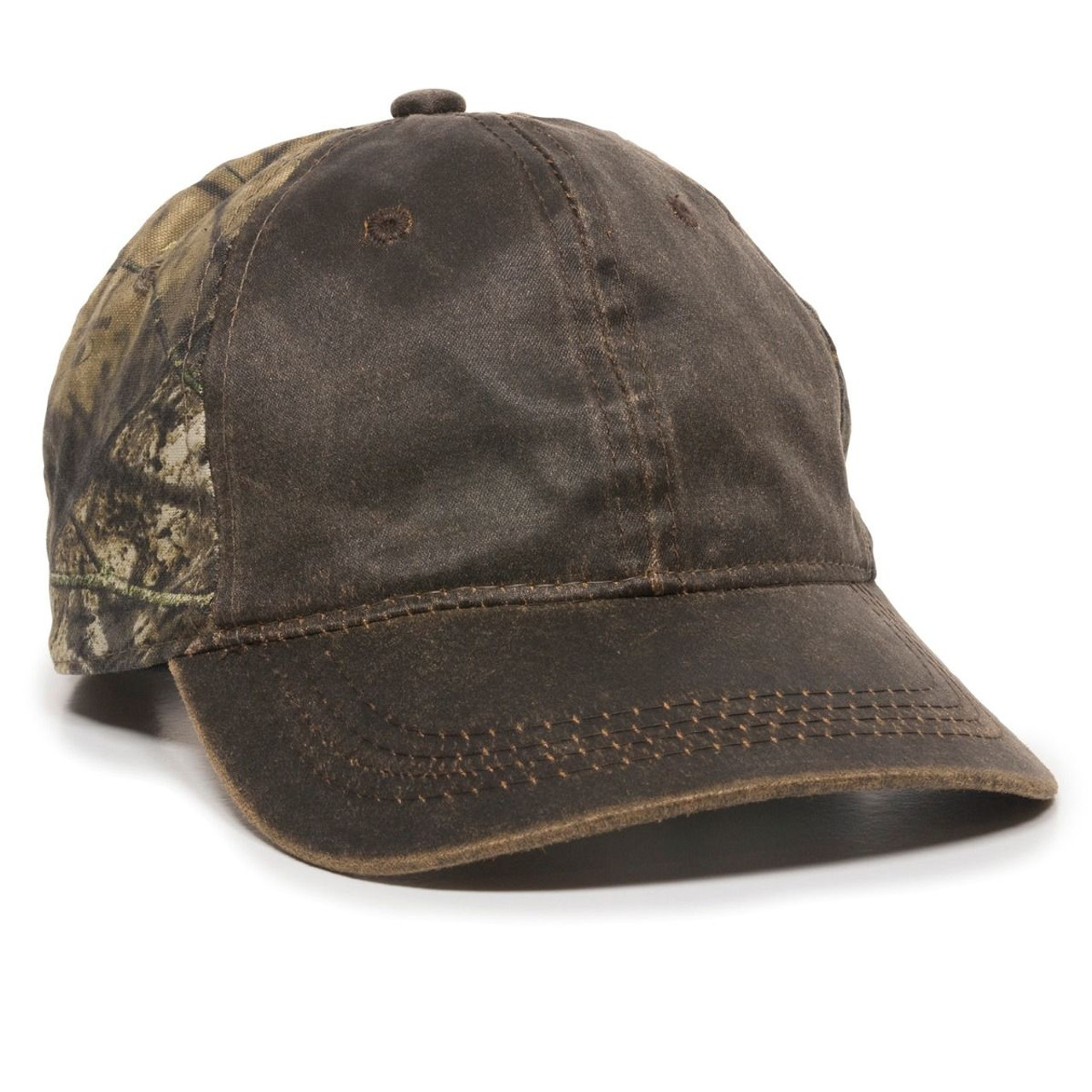 Promotional Weathered Cotton Twill Camo Hat