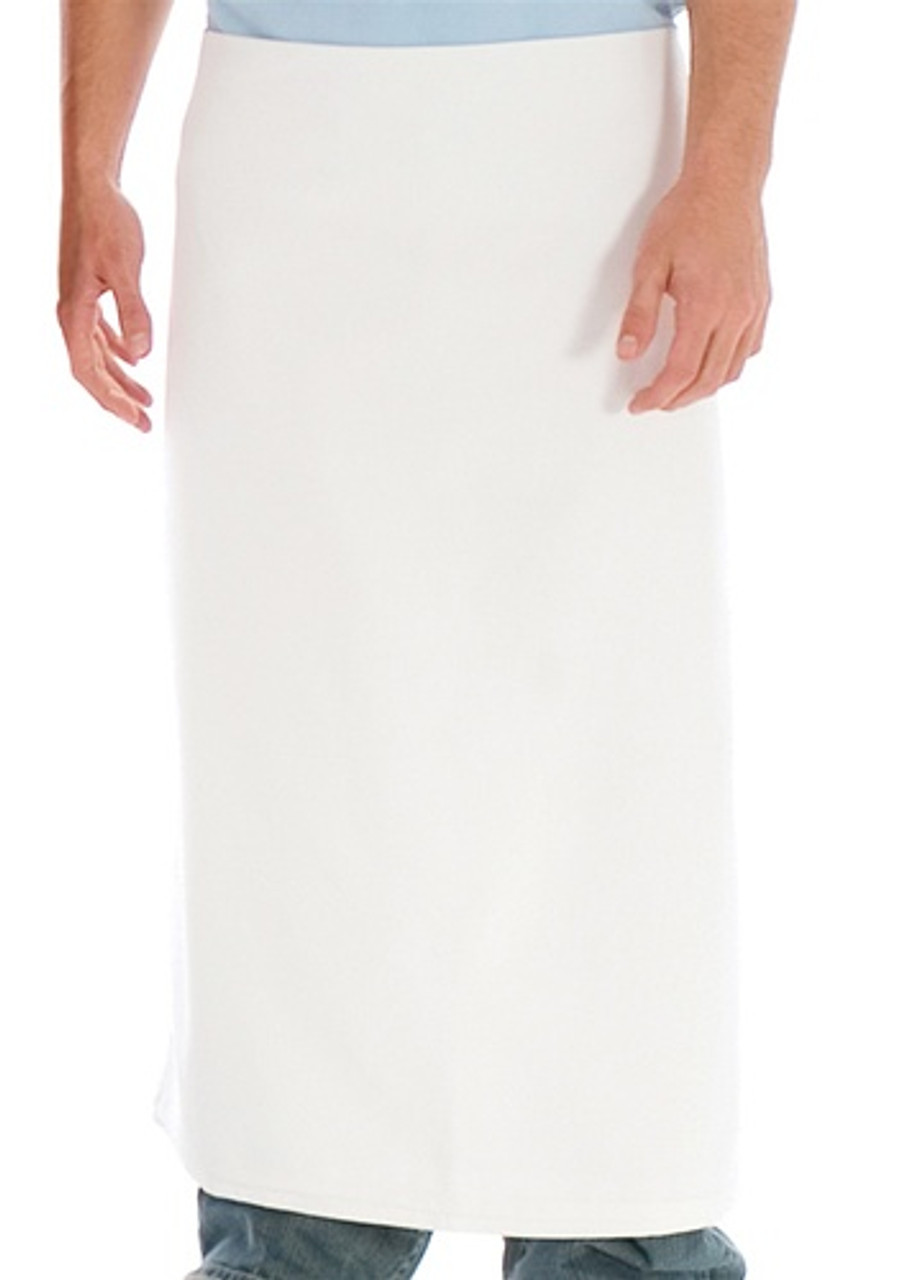Promotional Long Four-Way Bistro Apron with Nylon Braided Ties