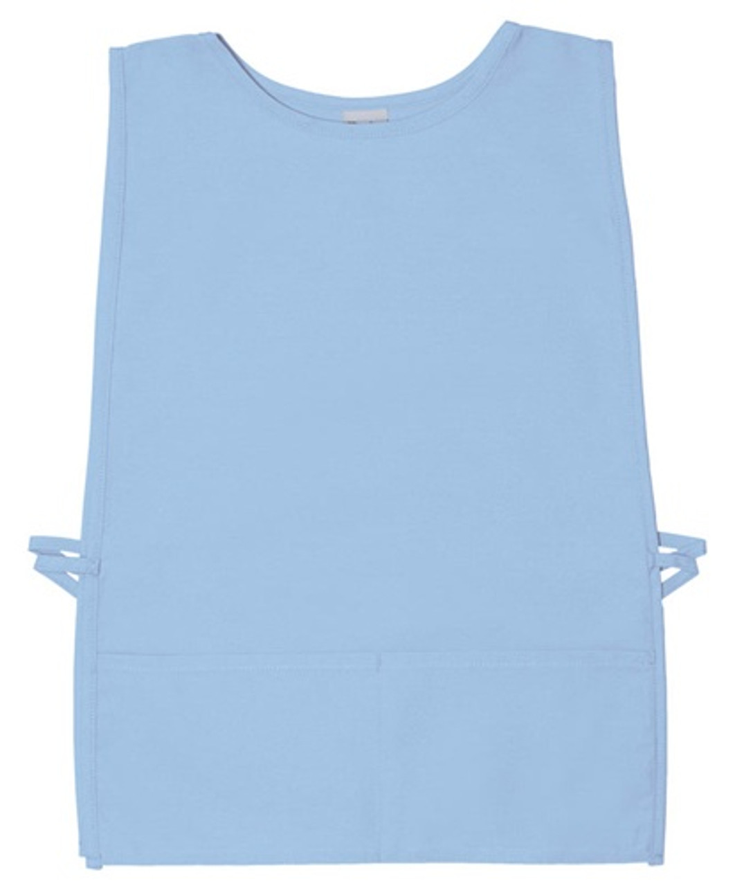 Personalized Squared Rounded Neck Cobbler Apron with 2 Pockets