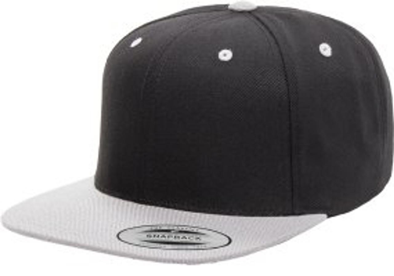 Custom Premium Classic 2-Tone Snapback Cap