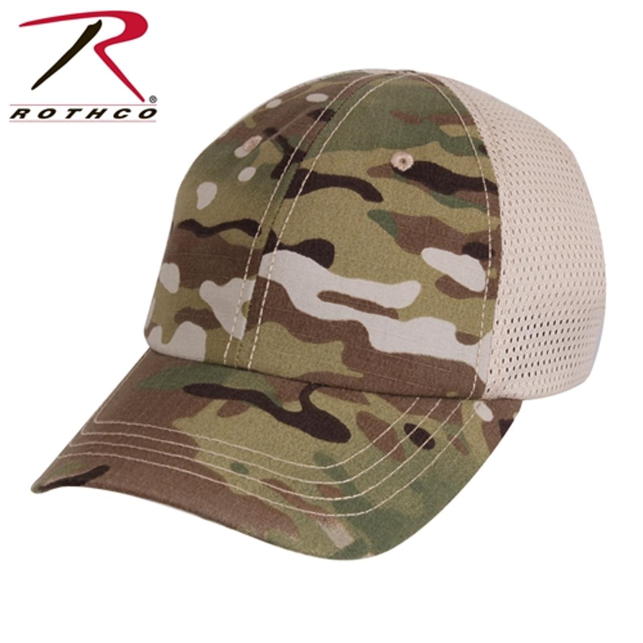Customized Mesh Back Tactical Cap