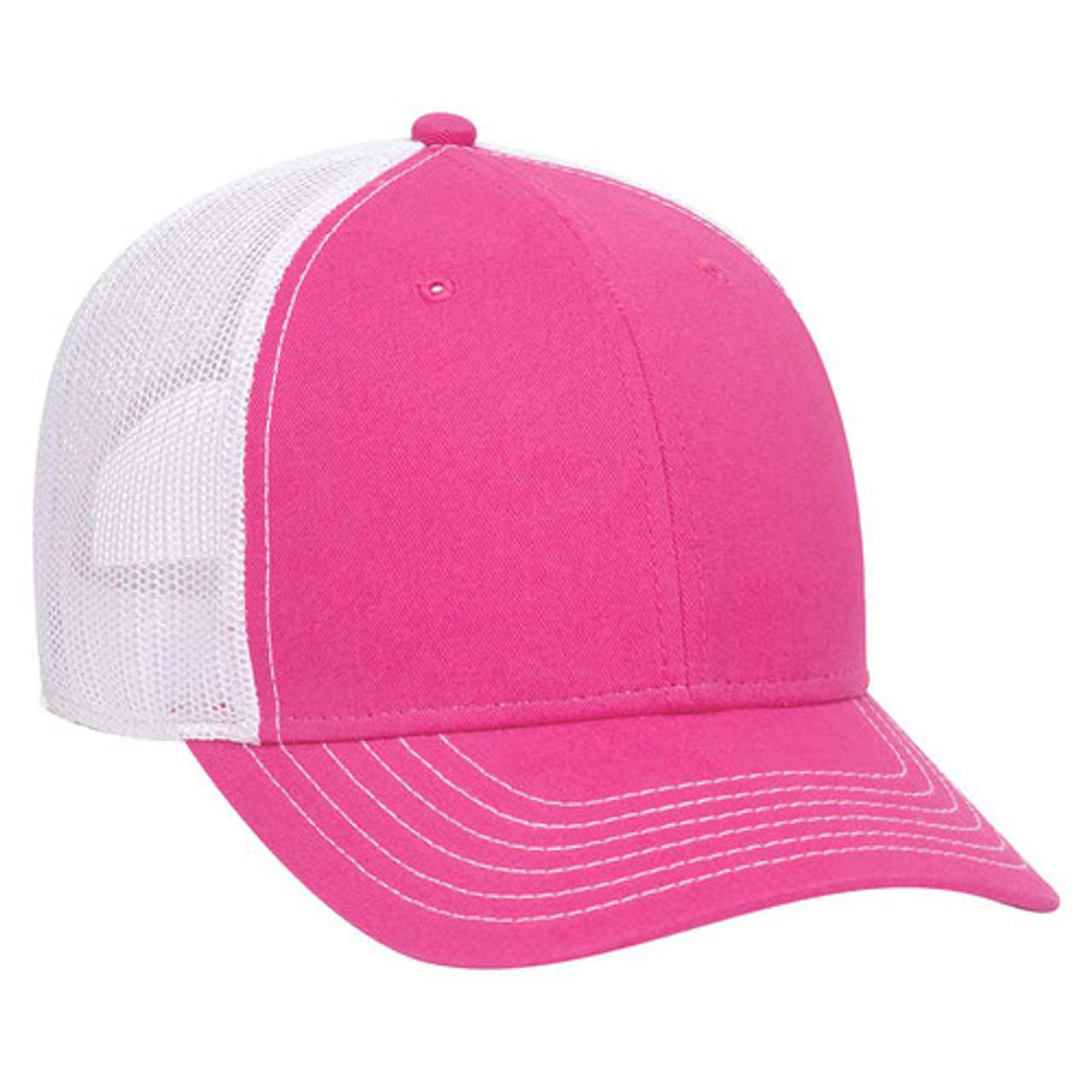 Custom Low Profile Mesh Back Trucker Hats