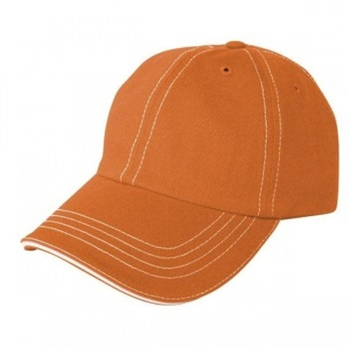 Custom 100% Cotton, Unstructured Relaxed Hat with Contrast Stitching 1
