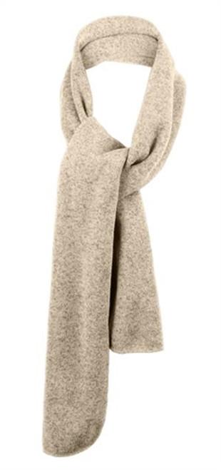 Custom Fine Heathered Knit Scarf