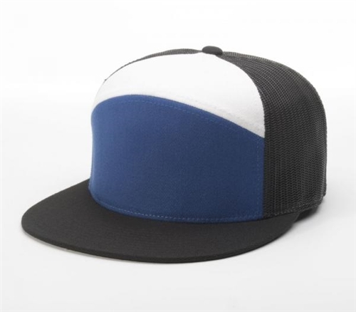 Embroidered 7 Panel Arch Cap