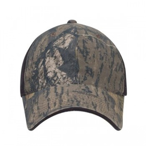 Custom Licensed Camo Relaxed Fit Soft Mesh Back Hat 1