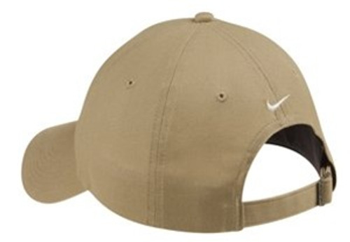 Custom Unstructured NIKE Golf Twill Hat with Slide Buckle Closure