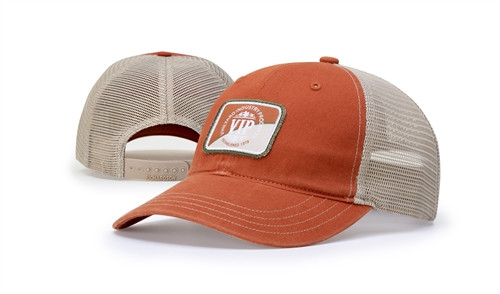 Embroidered Cotton Washed Hat w-Snapback