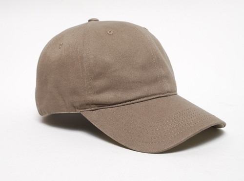 Embroidered Brushed Velcro Cap