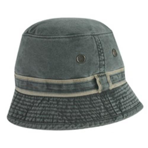 Custom Pigment Dyed Chino Cotton Twill Bucket Hat