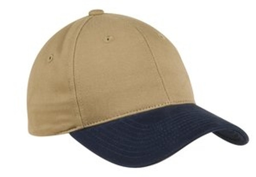 Custom Two Tone Brushed, Structured Low Profile Hat