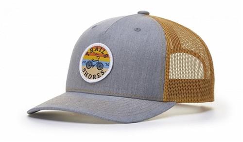 Custom Embroidered Five Panel Trucker Hat